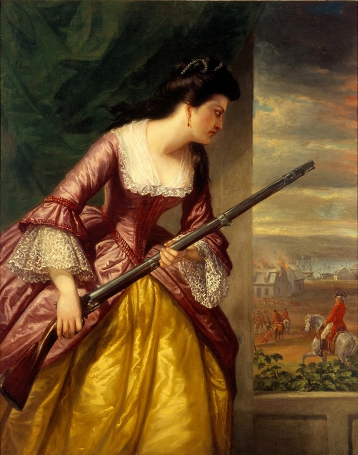 Daniel Huntington, Abigail Dolbeare Hinman, 1854-1856 - Lyman Allyn Art Museum, New London, Connecticut