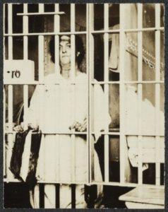 Suffragette in Jail