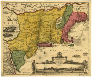 1685 Dutch Map