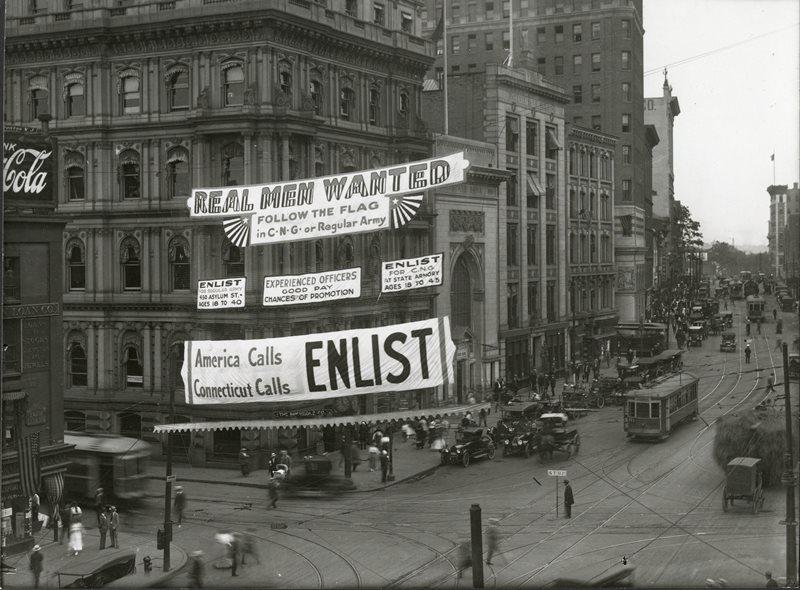 Enlistment banner