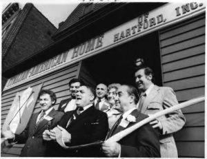 Italian-American Home grand opening, Hartford, 1975