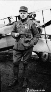 Full-length portrait of Lt. Raoul Lufbery