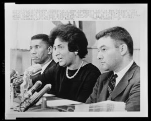 Civil Rights lawyer Constance Baker Motley