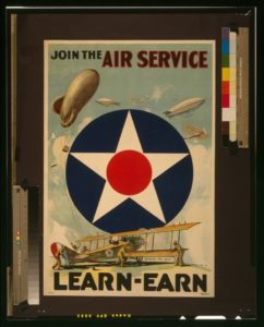 United States Army, Air Service recruitment poster