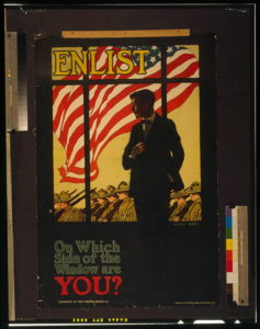 World War I enlistment poster