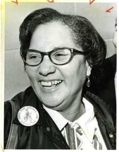 Community activist Maria Colón Sánchez