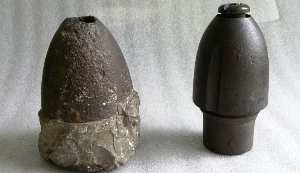 Hotchkiss exploding shells patented by Andrew Hotchkiss. - Sharon Historical Society