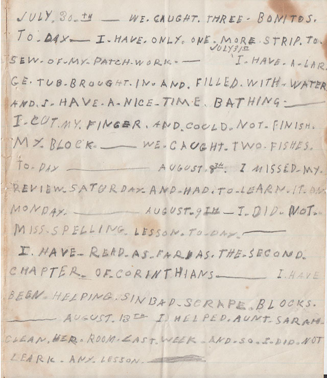 Page 2 of letter. - Mystic Seaport