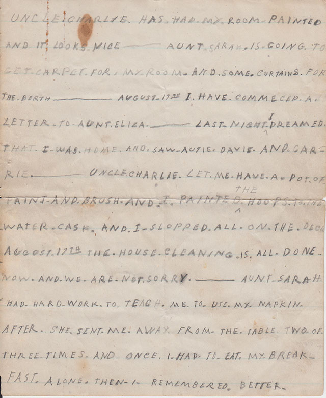 Page 3 of letter. - Mystic Seaport
