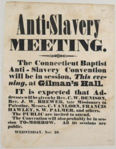 Broadside -Anti-slavery meeting