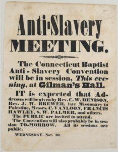 Broadside -Anti-slavery meeting