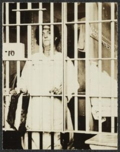 Suffragette in Jail