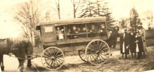 Dwight School Wagon, Fairfield, 1919