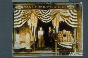 Photograph of Hoffman Wall Paper Company