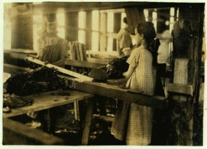 Child labor in Connecticut's tobacco industry