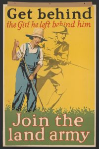 World War I Land Army poster