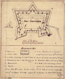 Map of Fort Griswold