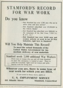 WWI booklet about labor shortages
