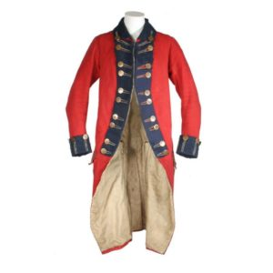 An example of a Loyalist military uniform