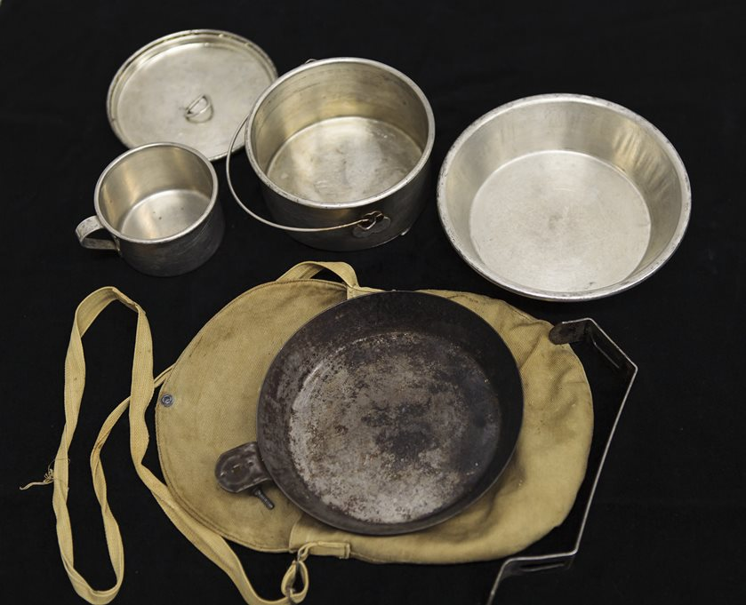 WWI mess kit